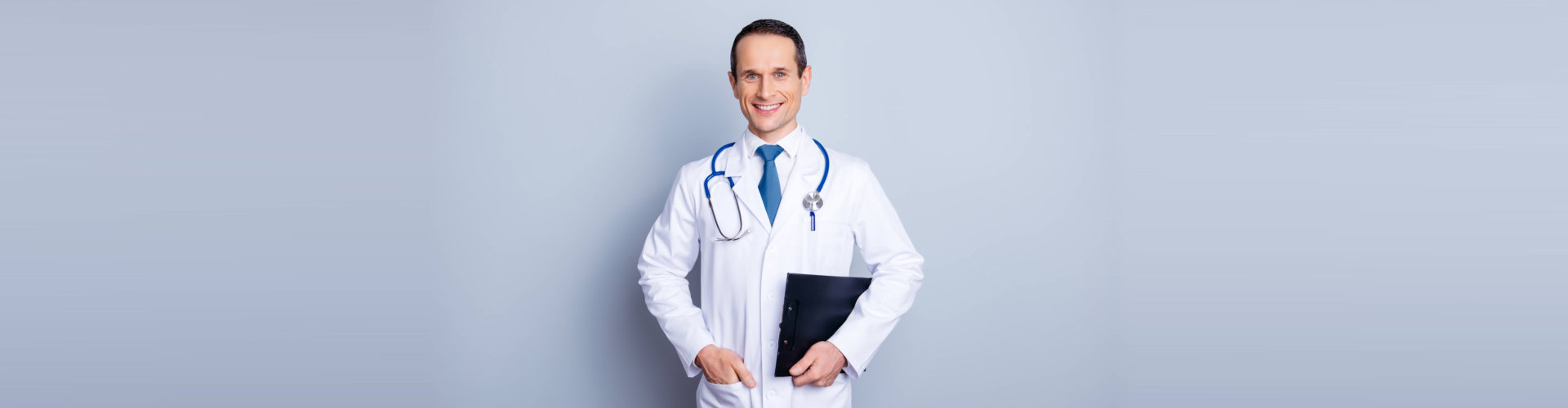 smiling male pharmacist
