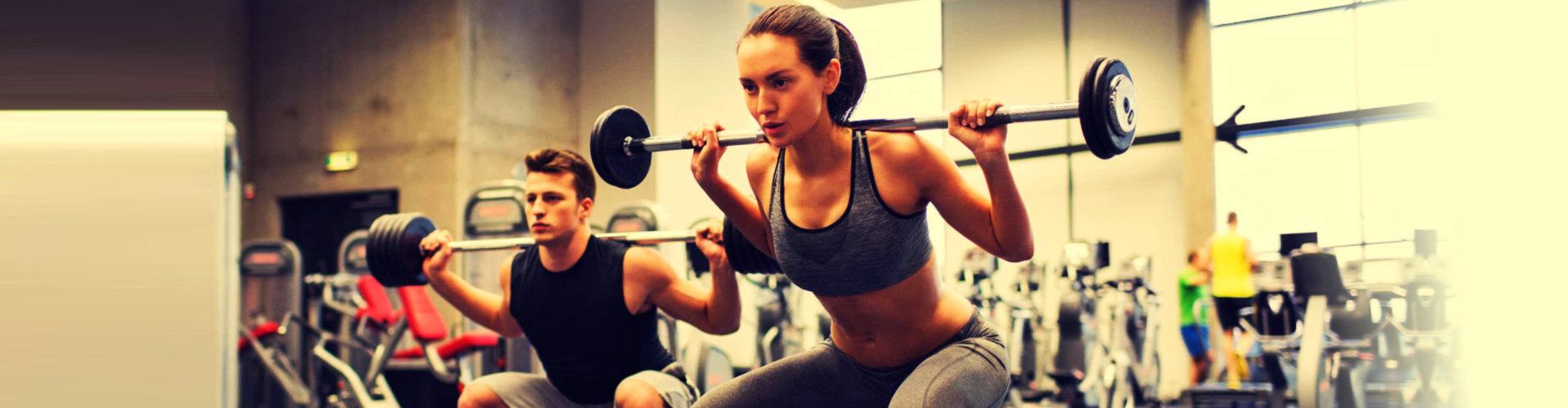 woman on a workout